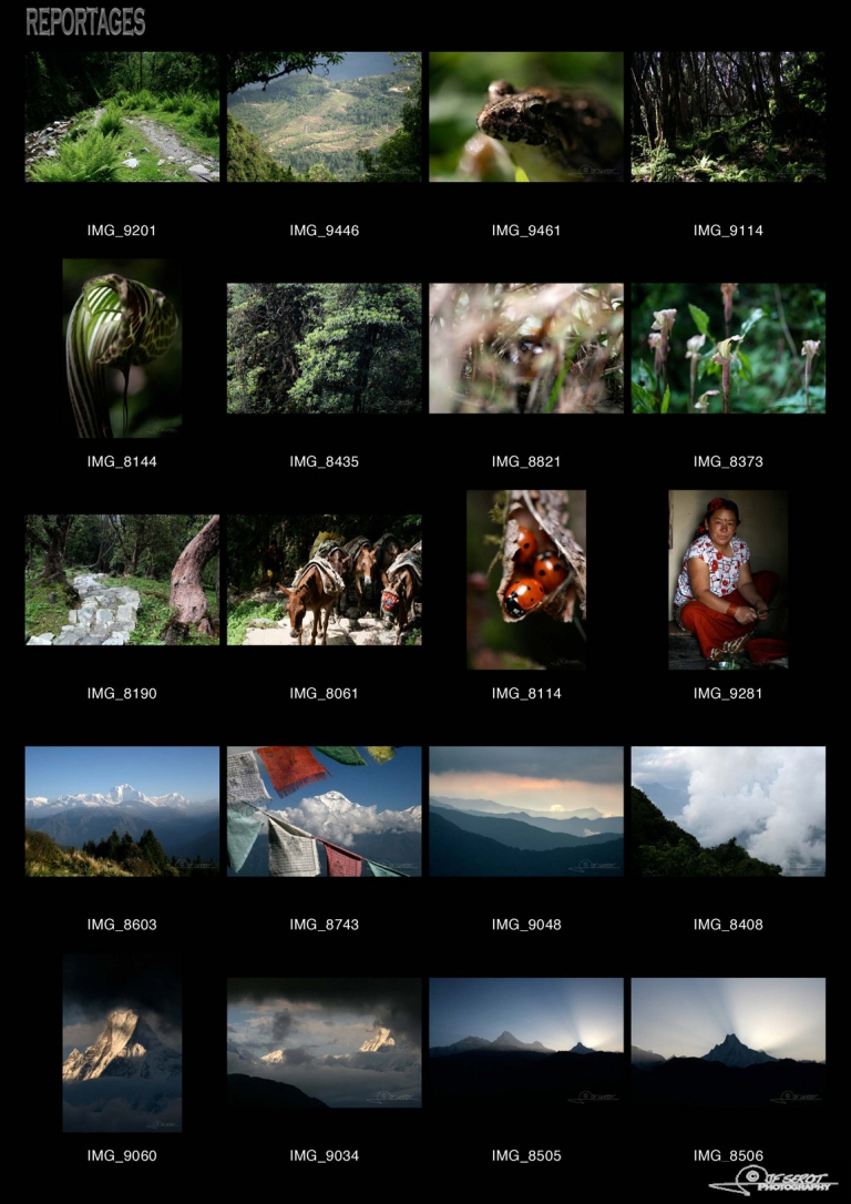 Annapurna, Himalaya – Népal