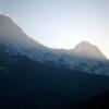 Levé du jour sur l'Annapurna – Népal