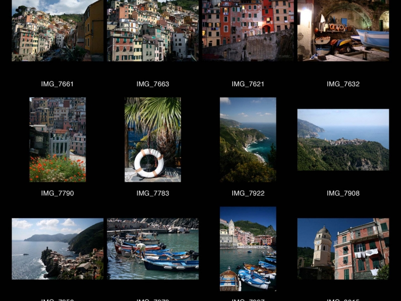 Les Cinque Terre, Ligurie – Italie