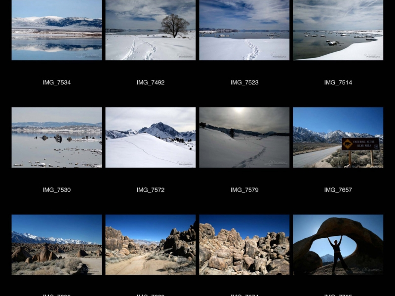 Mono Lake et Mont Whitney – Californie