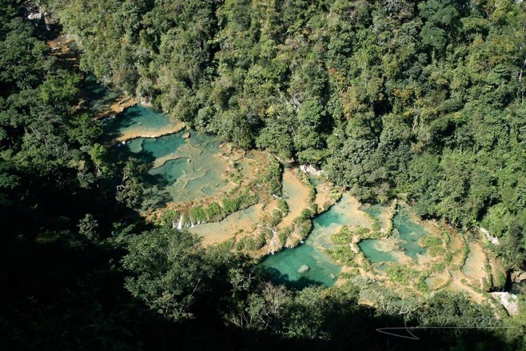 Piscines en cascades / Guatemala