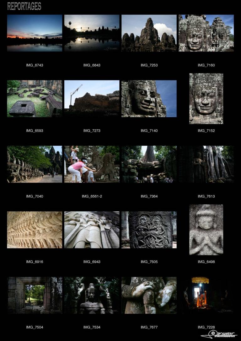 Ruines d'Angkor – Cambodge