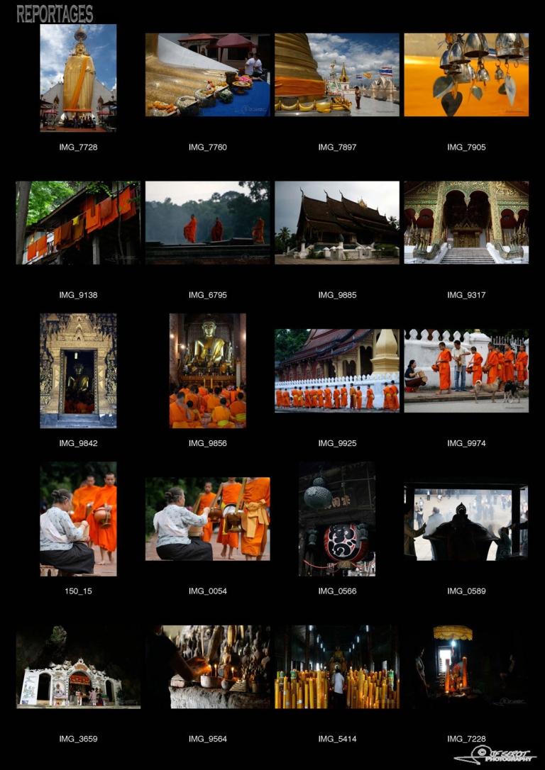 Bouddhisme – Asie