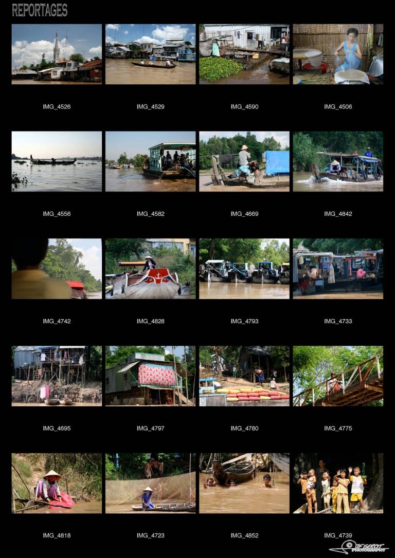 Habitants du Delta du Mékong – Viêt Nam