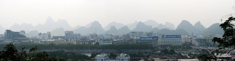 Reliefs karstiques de Guilin – Chine