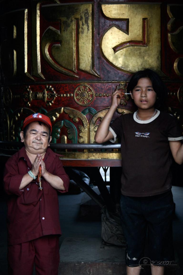 A l'écoute des prières – Népal