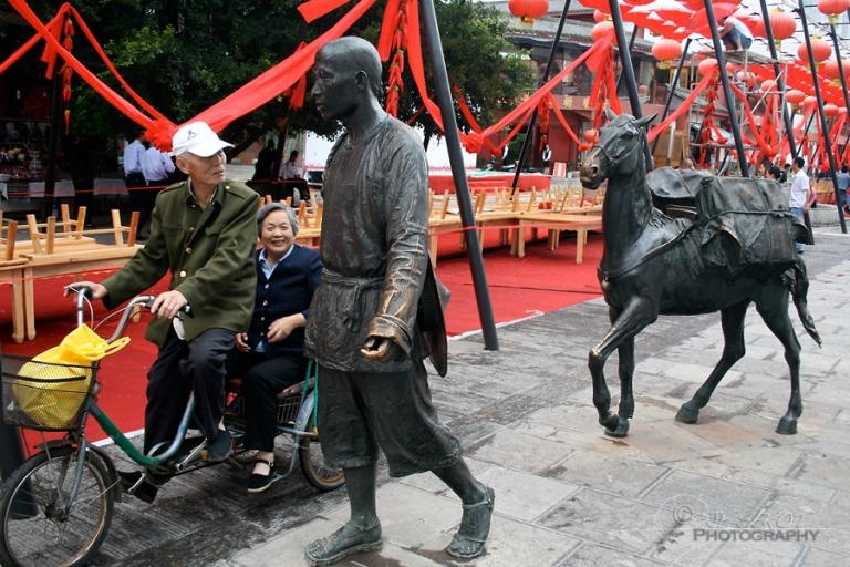 Ne pas vieillir tel un bronze – Chine