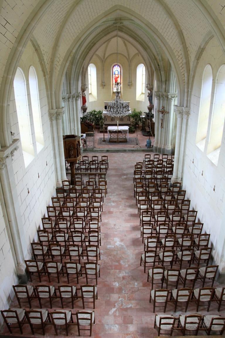 Auditoire d'église, Mayenne – France