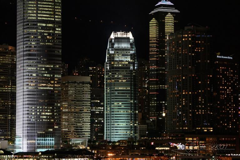 Buildings à Honk Kong – Chine