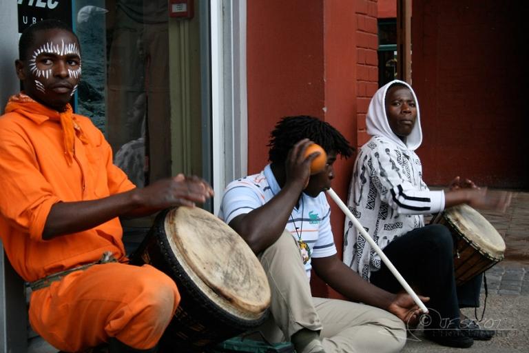 Musiciens – Afrique du sud