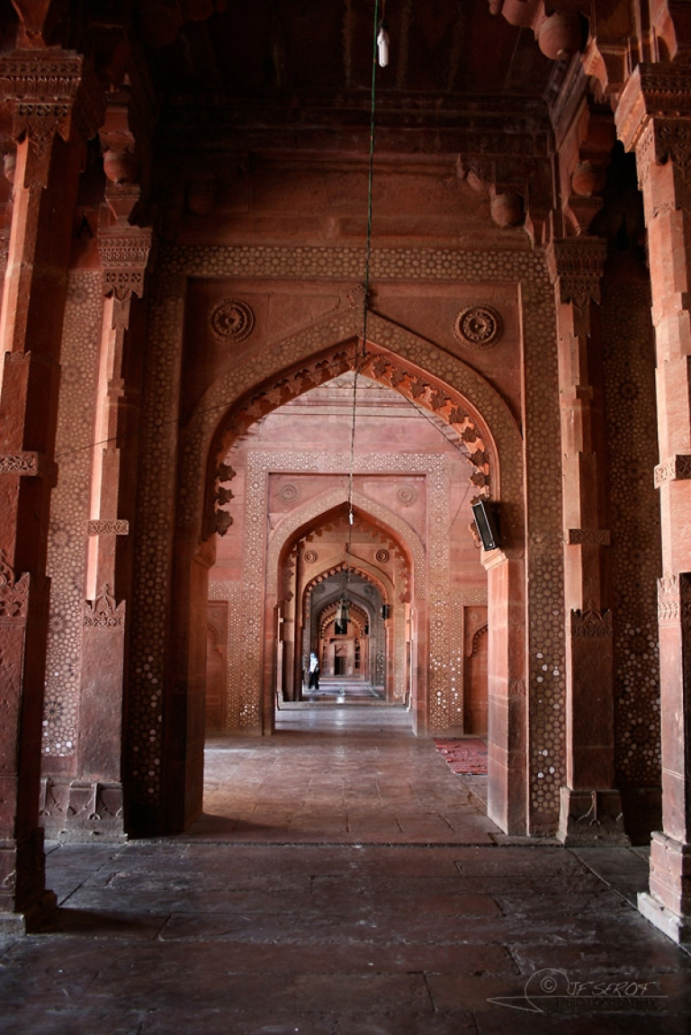 Arches, Fort rouge d'Āgrā – Inde