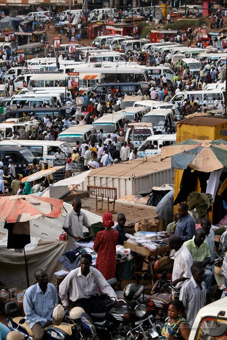 Gare routière de Kampala – Ouganda