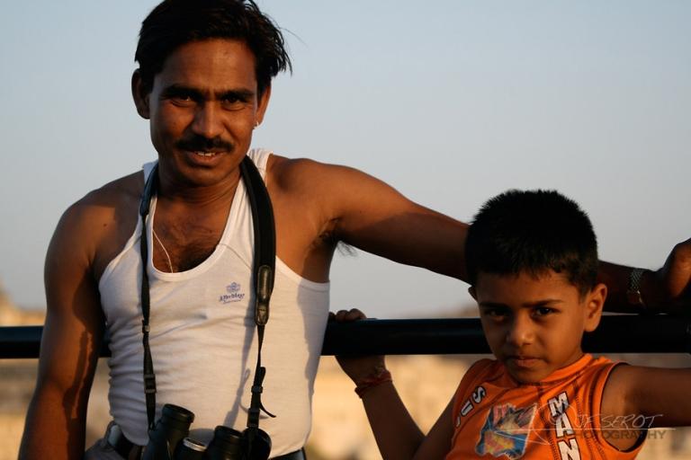 Père et fils – Inde