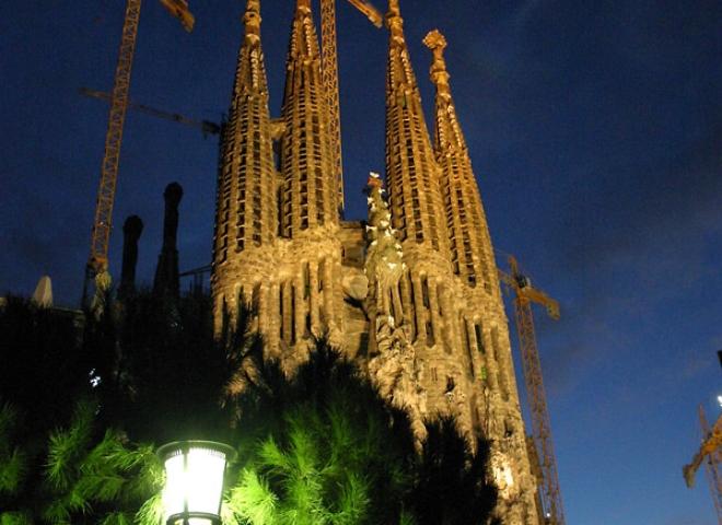 La Sagrada Família, Barcelone – Espagne