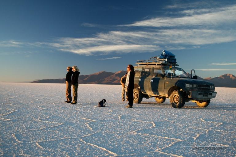 Levé du jour au Salar d'Uyuni – Bolivie