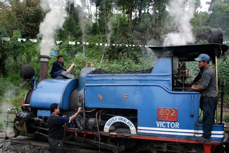 Entretien de la locomotive – Inde