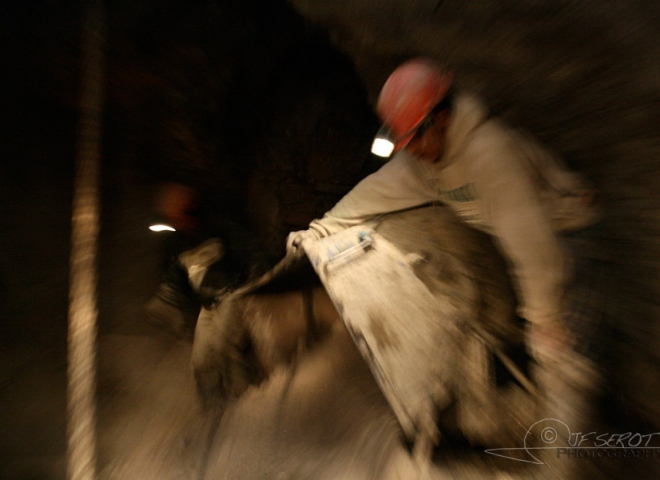 Travailler à la mine – Bolivie