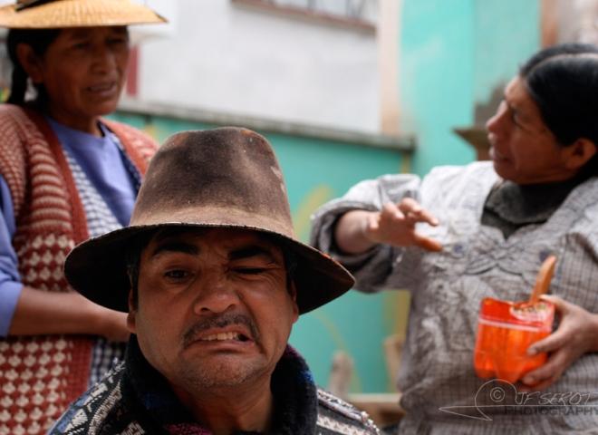 Grimacer – Bolivie