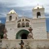 L'église de Maca, canyon Colca – Pérou