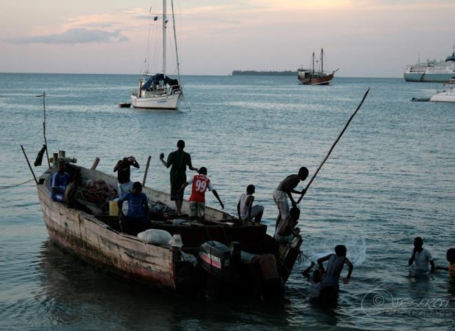 Plongeoir – Tanzanie