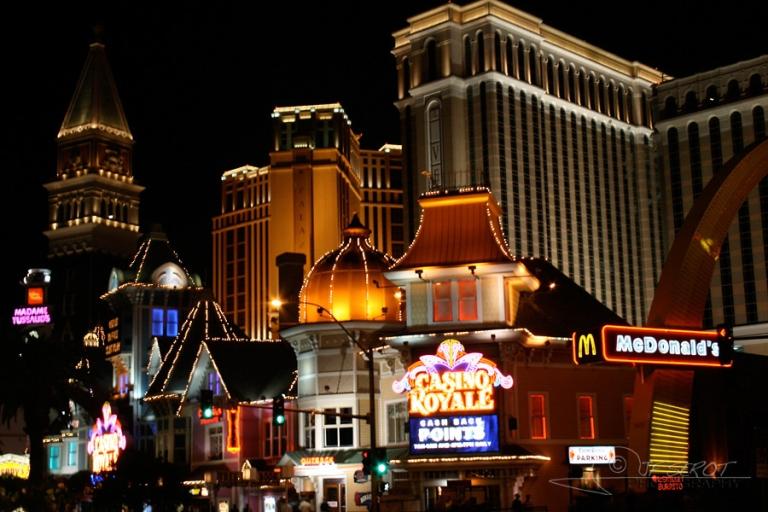 Casinos en plein désert, Las Vegas – Nevada