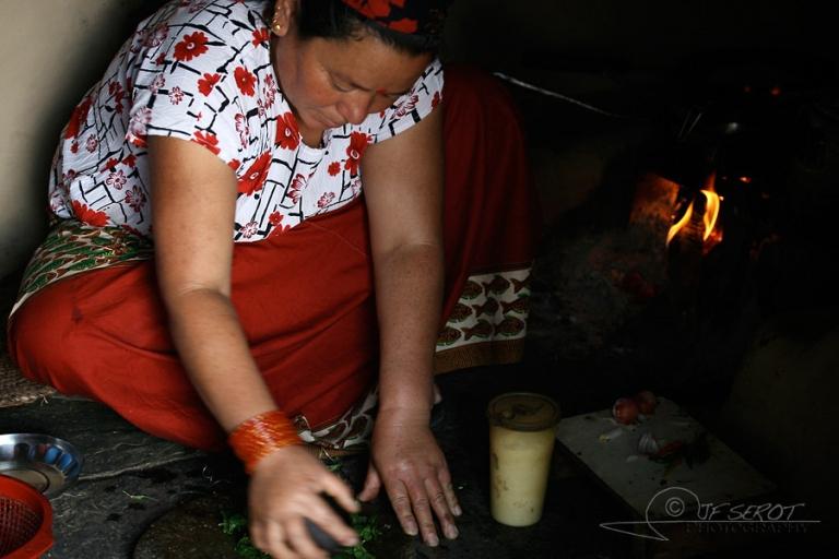 Faire à manger- Népal