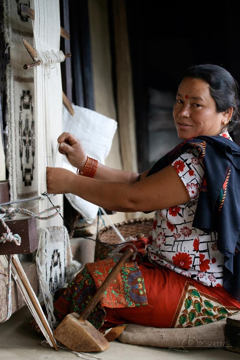Tisser – Népal