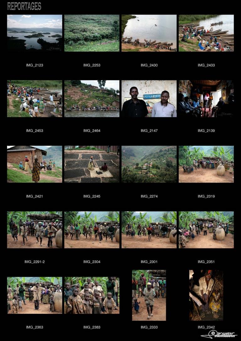Les pygmées – Ouganda