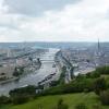 Rouen, dans un méandre de Seine – France
