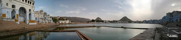 Ghats de Pushkar – Inde