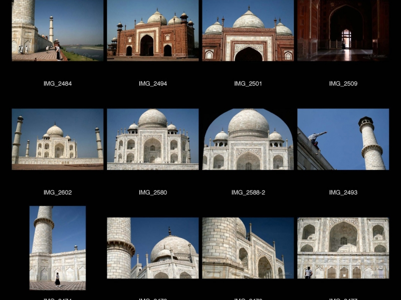 Taj Mahal, Âgrâ – Inde