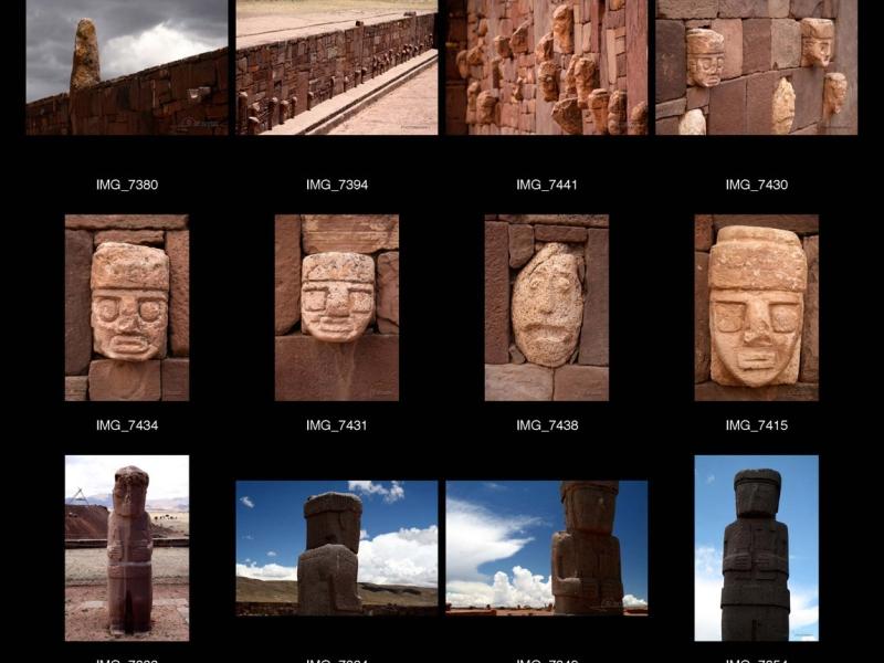 Cité du Soleil de Tiahuanaco – Bolivie