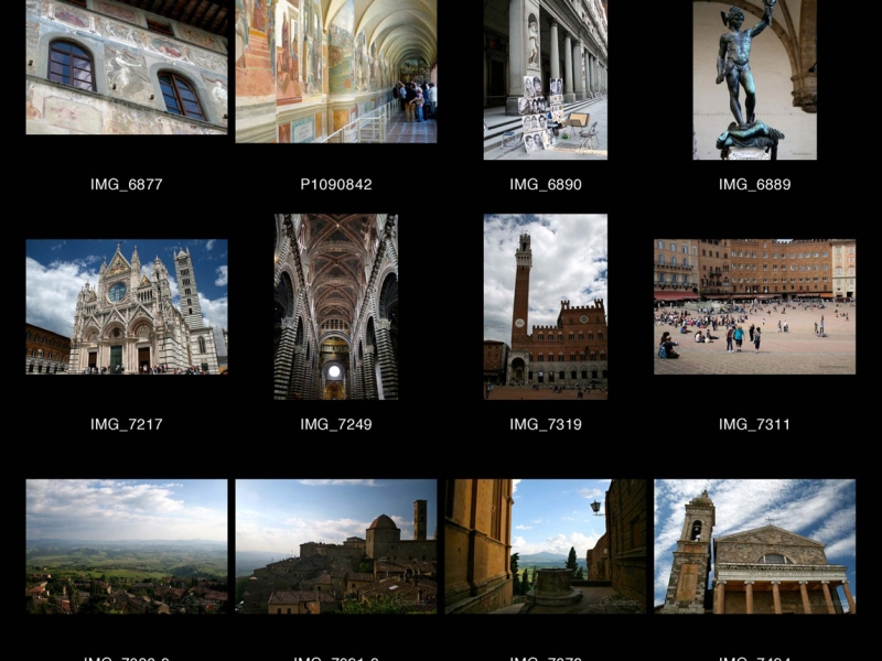 La Toscane – Italie