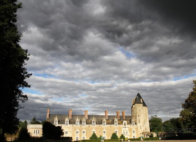 Logis du Roy, château de la Groulaie – France