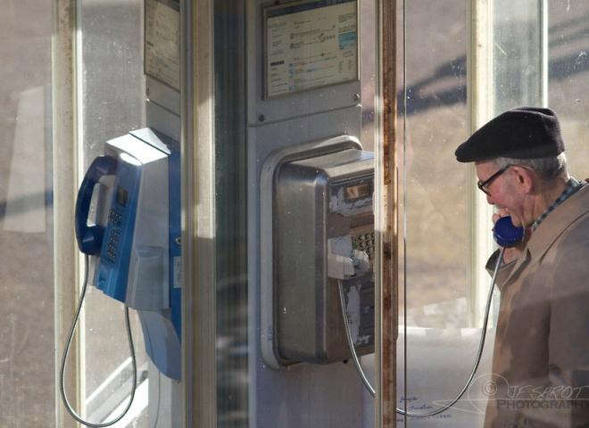 Cabine téléphonique – France