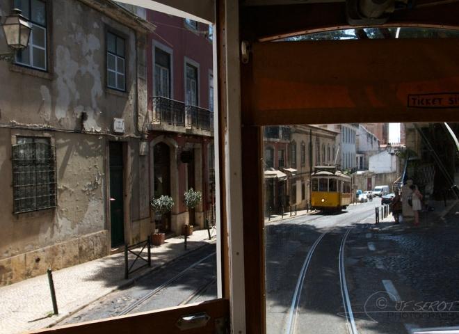 Tramway, Lisbonne – Portugal
