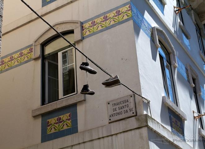 Chaussée,  Lisbonne – Portugal