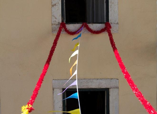 Fenêtre festive, Lisbonne – Portugal