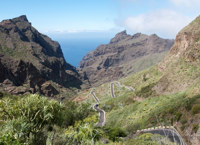Rourte vers Masca, Tenerife – Canaries