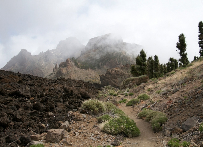 Parc national du volcan Teide à Tenerife – Canaries