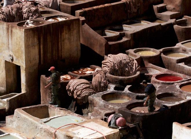 Tanneries Chouara, Fès – Maroc