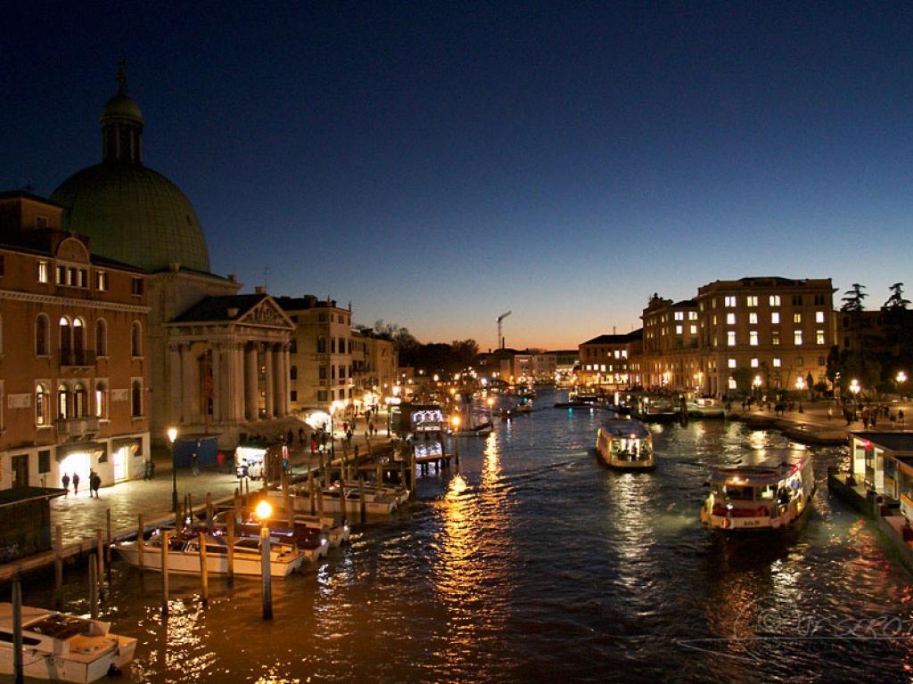 Grand Canal de Venise – Italie