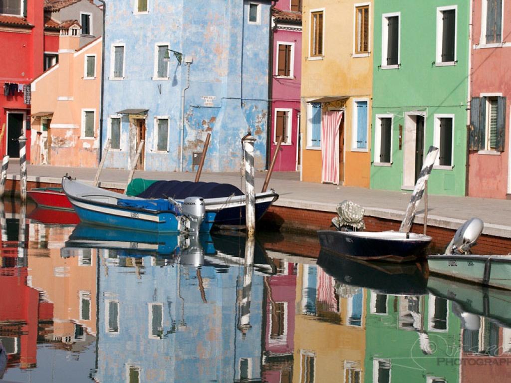 Burano, île de la lagune de Venise – Italie