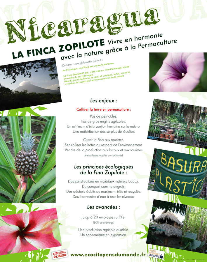 la finca zopilote vivre en harmonie avec la nature gr ce la permaculture s rot jfran ois. Black Bedroom Furniture Sets. Home Design Ideas