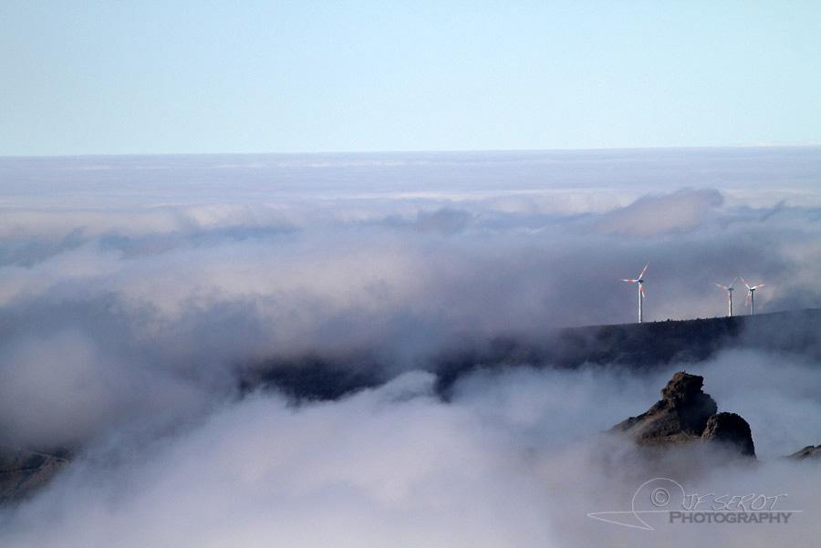 Trouée d'éoliennes – Portugal