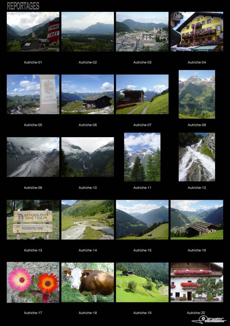 Les Alpes autrichiennes – Autriche