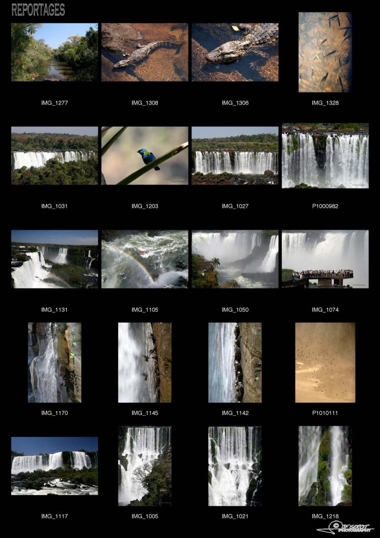 Chutes d'Iguazú – Brésil et Argentine