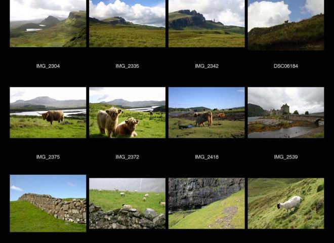 Les Highlands, Ecosse – Royaume-Uni