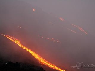 Coulées de lave, Volcan Pacaya –  Guatemala