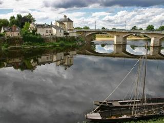 La Loire à Chinon – France